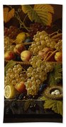 Still Life With Fruit Hand Towel