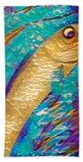 Swordfish Bath Towel