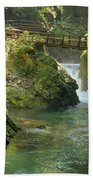 The Vintgar Gorge Bath Towel