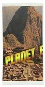 Ufo Postcards Home By Raphael Terra Bath Towel