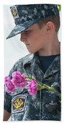 Us Naval Sea Cadet Corps - Gulf Eagle Division, Florida Bath Towel