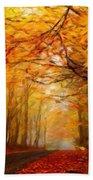 Landscape Artwork Bath Towel