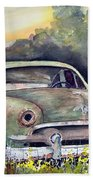 51 Ford Bath Towel