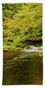 North Carolina Fall Colors Bath Towel