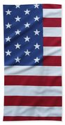 Usa Flag Bath Towel