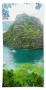 Nature Art Landscape Canvas Art Paintings Oil Bath Towel