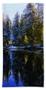 Nature Landscapes Prints Bath Towel