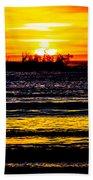 Sunset Bay Beach Bath Towel