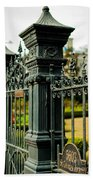 5603 St. Charles Ave Fence- Nola Hand Towel
