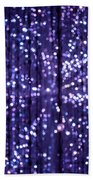 Abstract Light Bath Towel