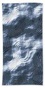 Alien Fluid Metal Bath Towel