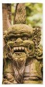 Bali Sculpture Bath Towel