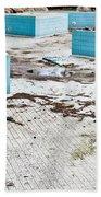 Derelict Swimming Pool Bath Towel
