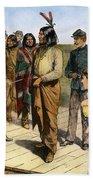 Geronimo 1829-1909.  To License For Professional Use Visit Granger.com Bath Towel