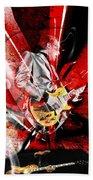 Joe Bonamassa Blues Guitarist Art. Bath Towel