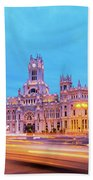 Madrid, Spain Bath Towel