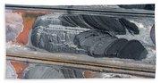 Mining Excavator On The Bottom Surface Mine.  Bath Towel