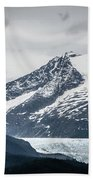 Mountain Range Scenes In June Around Juneau Alaska Bath Towel