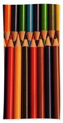 Multicolored Pencils  Bath Towel
