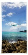 St. Marrten Caribbean Island Bath Towel