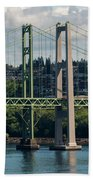 Tacoma Narrows Bridge Bath Towel