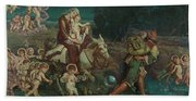 The Triumph Of The Innocents Bath Towel