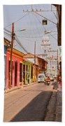 Traversing Santiago De Cuba, Cuba. Bath Towel