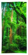 Nature Landscape Light Bath Towel