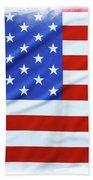 Usa Flag Bath Towel