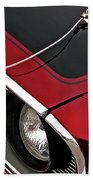 69 Mustang Hood Pin And Grille Hand Towel