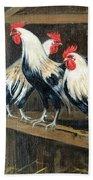 #69 - Roosters Bath Towel