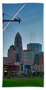 Charlotte North Carolina Early  Morning Sunrise Bath Towel