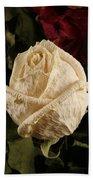 Dried Roses Bath Towel