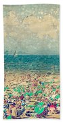 Gordon Beach, Tel Aviv, Israel Bath Towel