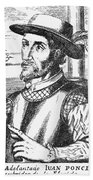 Juan Ponce De Leon Bath Towel