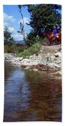 Lower Sisquoc River - San Rafael Wilderness Bath Towel
