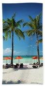 Main Beach Of Tropical Paradise Boracay Island Philippines Bath Towel