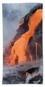 Pahoehoe Lava Flow Bath Towel