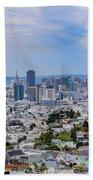 San Francisco Skyline  Bath Towel