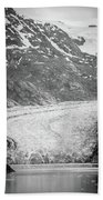 Sawyer Glacier In Tracy Arm Alaska Fjords Near Ketchikan Alaska Bath Towel