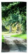 Scenes At Botany Bay Plantation Near Charleston South Carolina Bath Towel