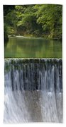 The Vintgar Gorge Bath Towel