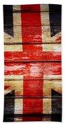 Union Jack Flag  Bath Towel