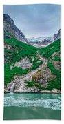 Inside Passage Mountain Views Around Ketchikan Alaska Bath Towel