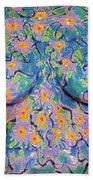 8. Joyce English, Artist, 2017 Bath Towel