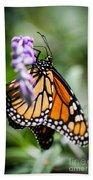 Monarch Danaus Plexippus Bath Towel