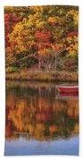 Autumn Reflection  Bath Sheet