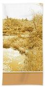 Stream In Autumn, Pocono Mountains, Pennsylvania Bath Towel
