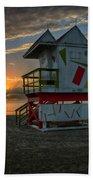 8097- Miami Beach Sunrise Bath Towel