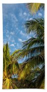 8167- Palm Tree Bath Towel